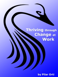 Thriving through Change at work cover